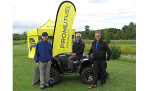 Participation in the MRC de Drummond golf tournament - Promutuel Assurance Drummond