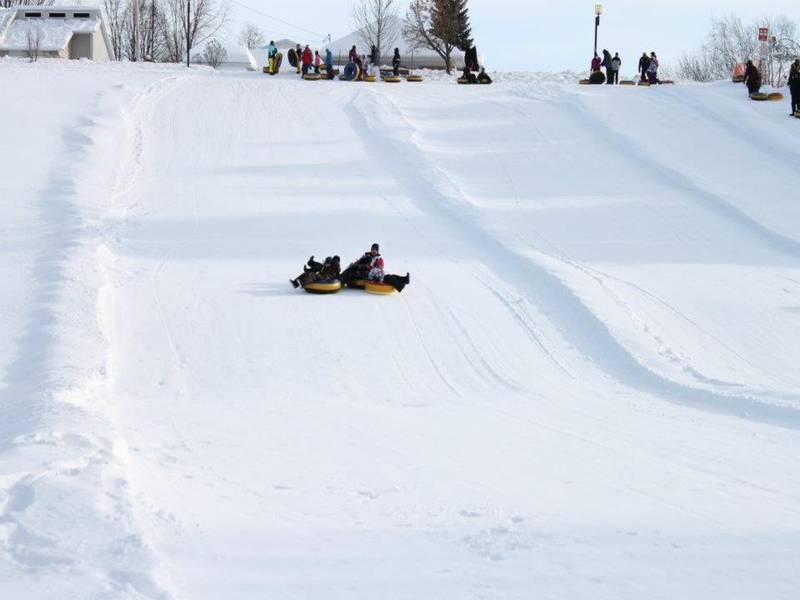 Tubing at Centre Nature. Credit: quebecoriginal.com.