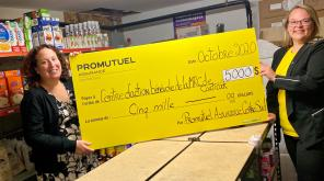 Promutuel Insurance Centre-Sud donates $35,000 to four local food banks