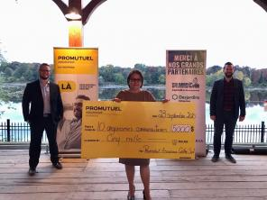 Promutuel Issurance Centre-Sud distributes $10,000 $ to 20 regional organizations