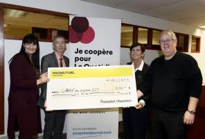 Donation to local papers