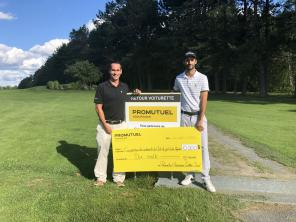 Partnership with the Lac Mégantic Golf Club Solidarity Cooperative
